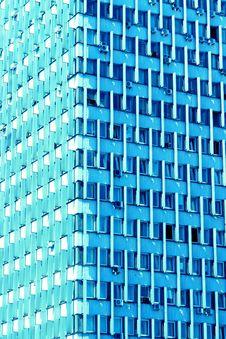Blue Building Stock Photos