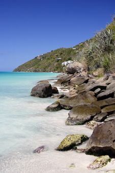 Free Caribbean Shoreline Royalty Free Stock Photography - 1896537