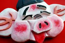 Chinese New Year S Pig Royalty Free Stock Image