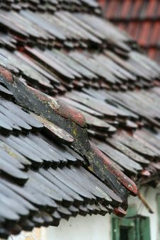 Free Roof In Rain Stock Image - 1897711