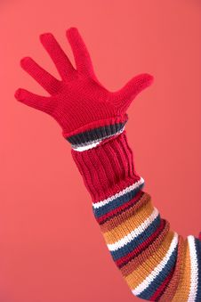 Free Colorful Sweater And Glove Stock Photography - 1898272