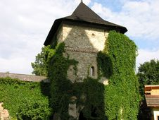 Romania Monastery Stock Photo