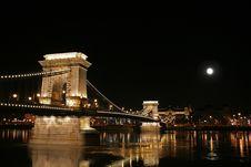 Free Szechenyi Chain Bridge Stock Photo - 1898890