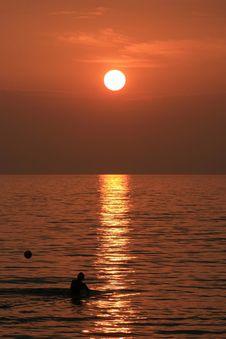 Free Sunset Fun Stock Image - 1899561