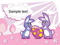 Free Easter Bunnies Stock Image - 18900671