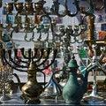Free The Jewish Holiday Candlesticks Background. Royalty Free Stock Photo - 18902495