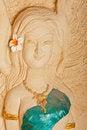 Free Thai Style Molding Art Royalty Free Stock Photos - 18904938