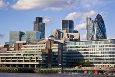 Free City Of London Financial District Stock Photography - 18900252