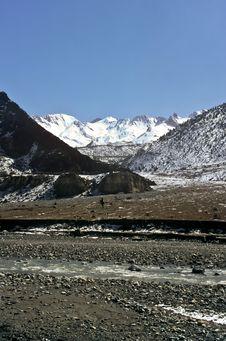 Free Barren Landscape, Nepal Stock Photo - 18900560