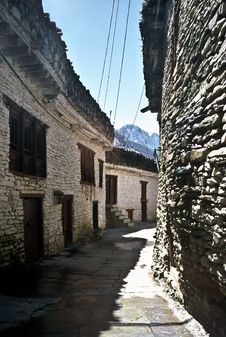 Free Old Village, Nepal Stock Images - 18900574