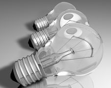 Light_bulb_2 Stock Photography