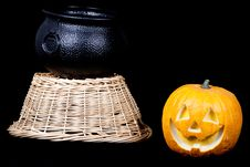 Free Halloween Set Royalty Free Stock Image - 18902556