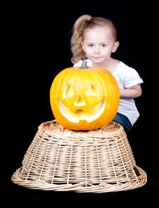 Free Halloween Pumpkin Royalty Free Stock Images - 18902559