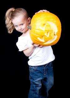 Free Sideways Pumpkin Stock Photos - 18902573