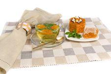 Free Tea And Cake Royalty Free Stock Photo - 18902715