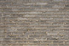 Free Gray Brick Wall Royalty Free Stock Photography - 18902977