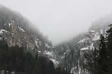 Free Fog In The Canyon Stock Images - 18903574