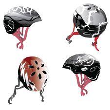 Free Sskateboard Helmet Royalty Free Stock Photography - 18903617