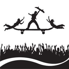 Free Skateboarding Stock Photos - 18903623