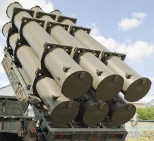 Free Anti-ship Missiles Launcher Royalty Free Stock Photos - 18903728