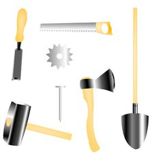 Free Joiner S Worker Tools Stock Photos - 18904133