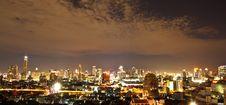 Free City At Night, Bangkok,Thailand Royalty Free Stock Images - 18904399