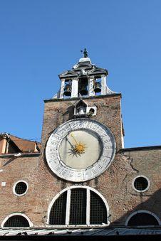 Free Church Of San Giacomo Di Rialto, San Polo, Venice Royalty Free Stock Image - 18905276