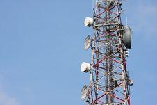 Free Telecommunication  Tower Stock Image - 18906181