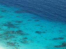 Free Blue Sea Stock Image - 18906381