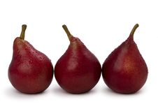 Free Red Pears Royalty Free Stock Photos - 18906488