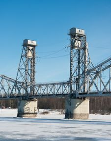 Free Railroad Bridge Stock Image - 18907281