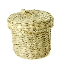 Free Seagrass Basket Stock Photography - 18907482