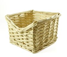 Free Wattled Basket Royalty Free Stock Images - 18907619
