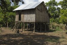 Free Farm House In The Cambodian Countryside Royalty Free Stock Photography - 18909487