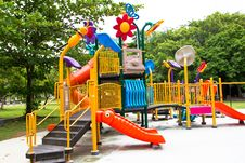 Free Modern Playground Royalty Free Stock Photo - 18909605