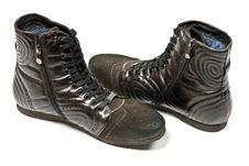 Free Men S Black Shoes Stock Photos - 18909843
