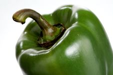 Free Green Pepper, Closeup Royalty Free Stock Image - 18909936