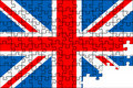 Free Flag Of The Great Britain Royalty Free Stock Photography - 18910987
