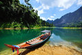 Free Boat On The Shore Of Lake Royalty Free Stock Image - 18913916