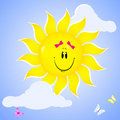 Free Smiling Sun. Stock Photography - 18916432