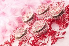 Free Valentine Cupcakes Royalty Free Stock Photos - 18910558