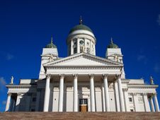 Free Helsinki Cathedral Stock Photo - 18910670
