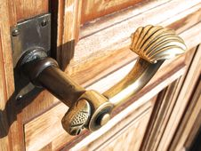 Free Door Handle Royalty Free Stock Photos - 18910688