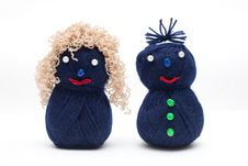 Free Wool Dolls Stock Images - 18911354