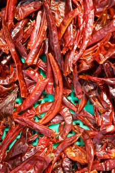 Free Dry Red Chili Royalty Free Stock Photos - 18912988