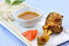 Free Chicken Drumstick Royalty Free Stock Images - 18913369