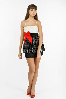 Free Beautiful Fashion Girl Stock Image - 18913711
