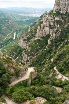 Free Montserrat, Mountain, Spain Stock Photography - 18913922