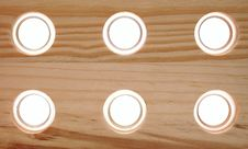 Free Wooden Board With Holes Royalty Free Stock Photo - 18914685