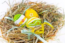Free Colorful Easter Eggs Royalty Free Stock Photo - 18914825